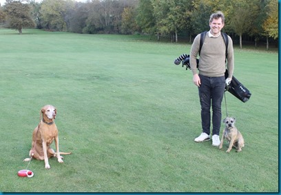 Feldon Valley dog golf 1