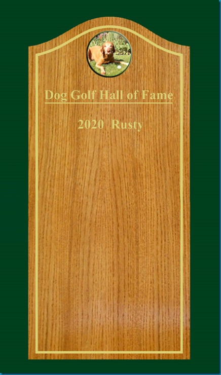 Dog Golf Hall of Fame